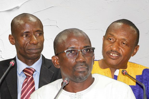 Ebrima Jallow, Ngorr Secka et Ousman Jallow témoignent devant la Commission vérité en Gambie