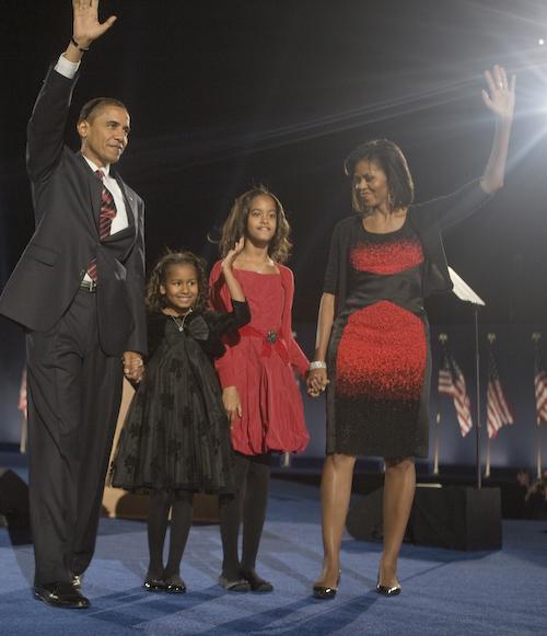 2008 obama family acceptance speech