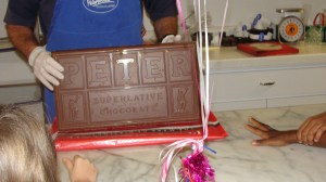 Ten Pound Chocolate Bar