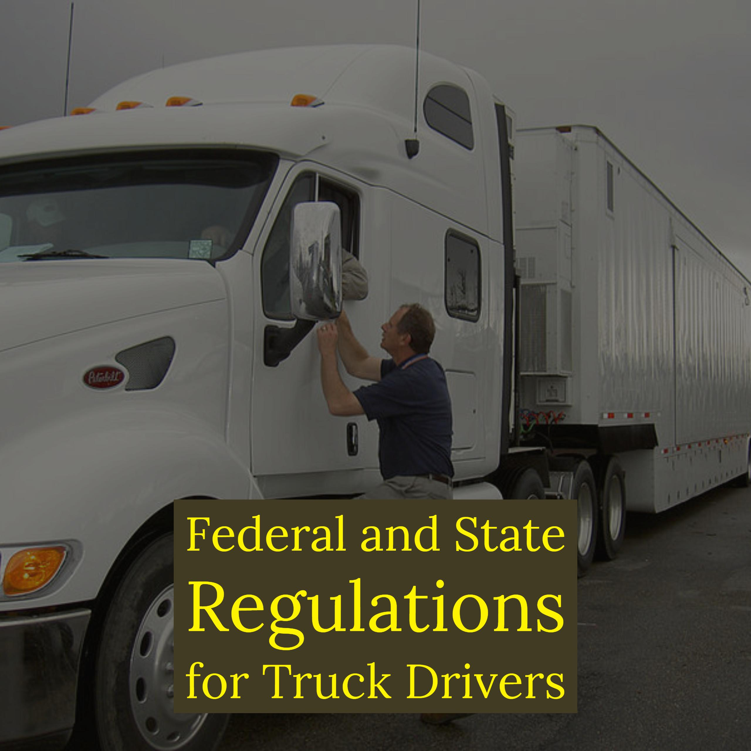 Laws That Truckers Have To Follow Justicenewsflash Com