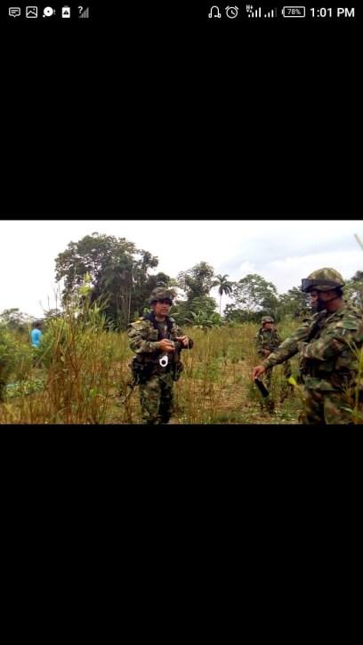 Imagen 1. Sargento que amenazó a Omaira del Socorro