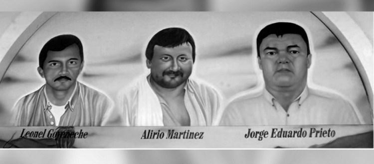 Jorge Prieto Alirio Martínez y Leonel Goyeneche