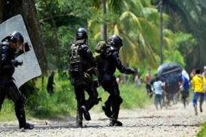 ESMAD ataca a familias campesinas e indígenas