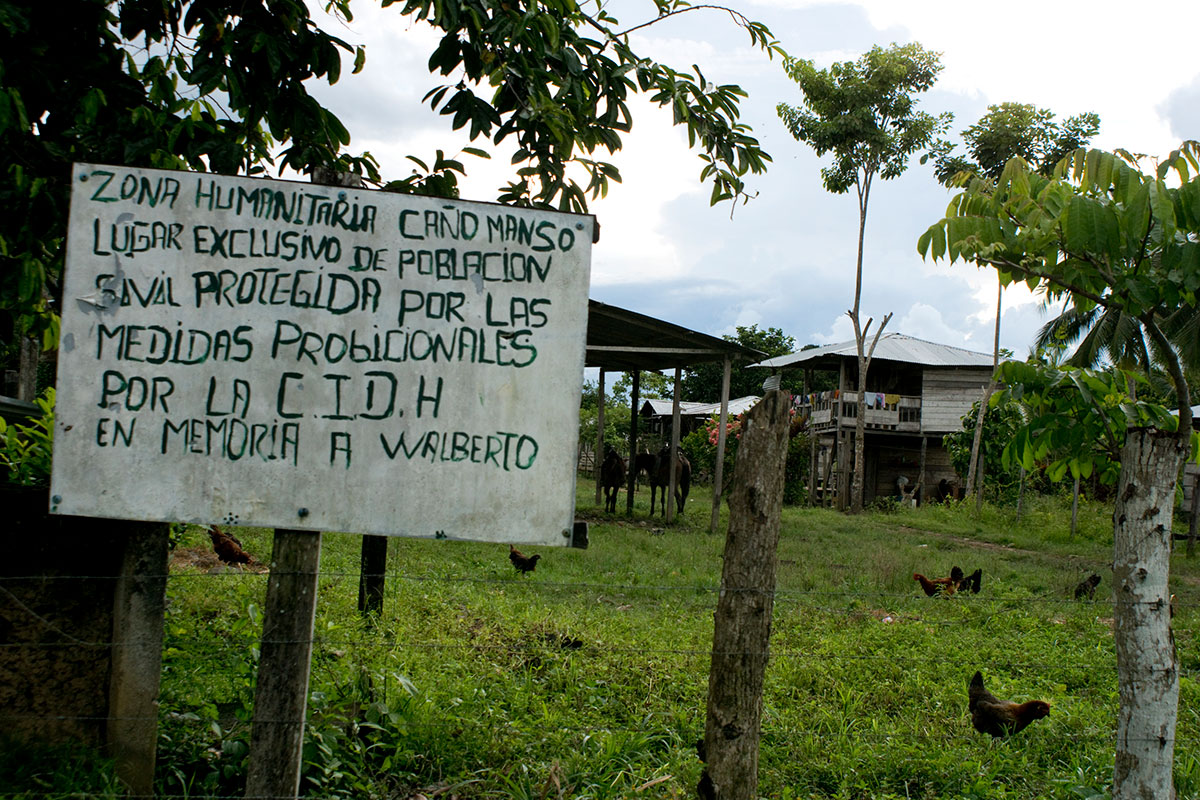 "Zona humanitaria ""Walberto Hoyos"""