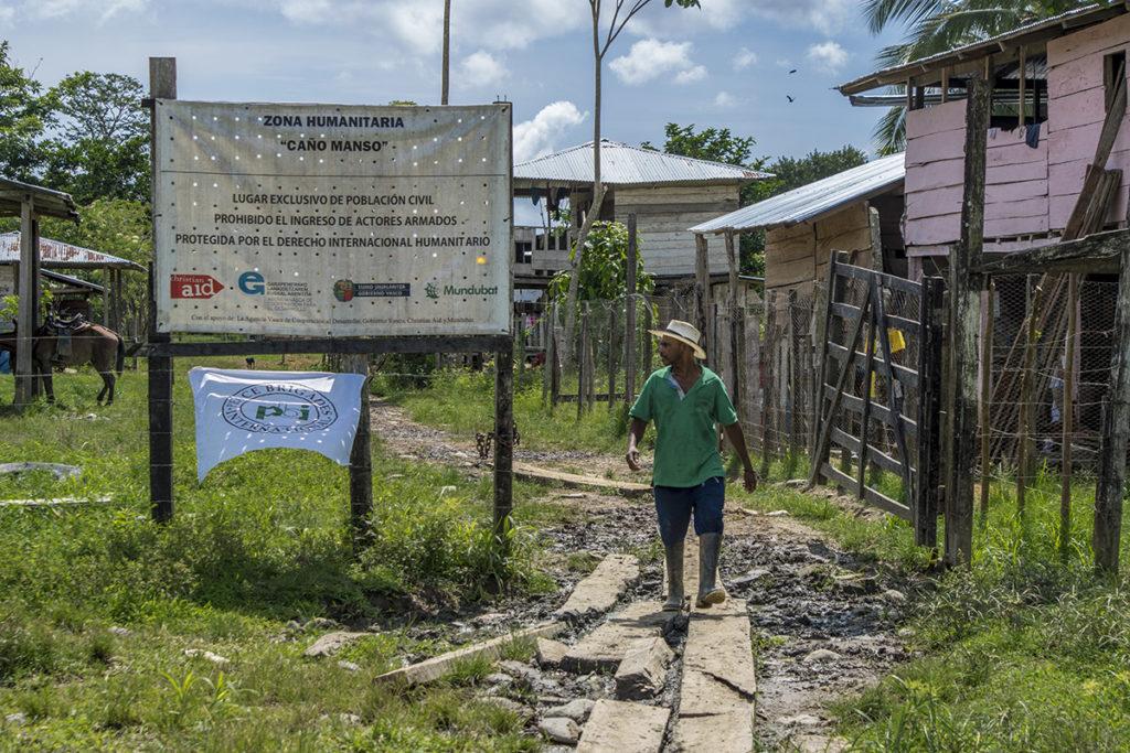 Zona Humanitaria Caño Manso/ J&P Gabriel Galindo