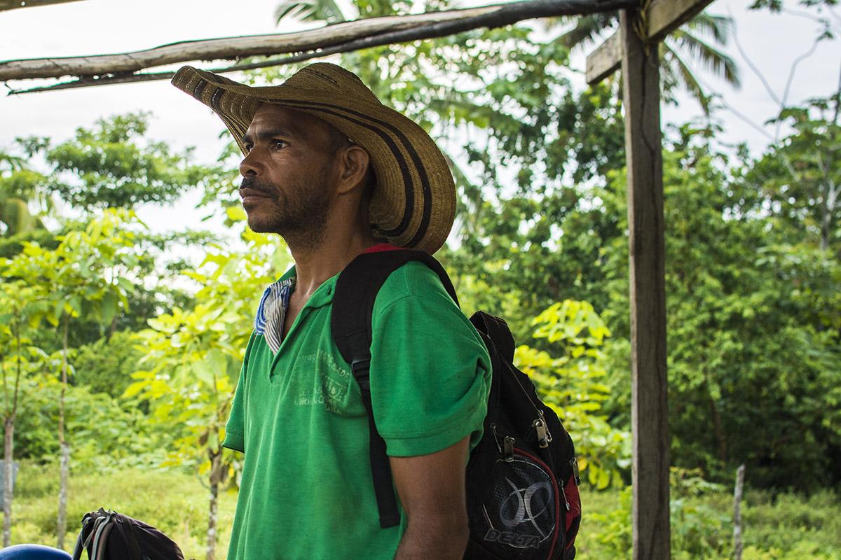 Andrés Lance, hijo de Juan de Dios, víctima del despojo de tierras/ Contagio Radio - Gabriel Galindo