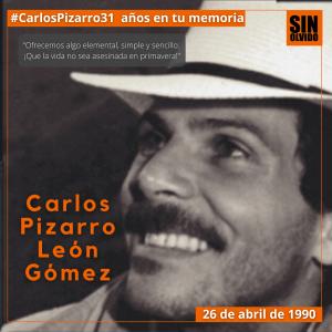 Carlos Pizarro León Gómez
