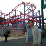 Flying Coaster in Genting Malaysia
