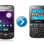 How to transfer phone book from Android Phone to Samsung C3222 ?