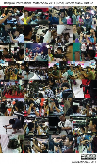 Bangkok International Motor Show 2011 Camera Man 02
