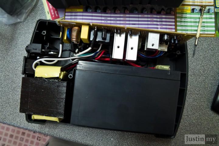 Repairing UPS 6