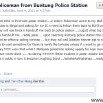 Malaysia Police Man Failed