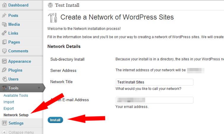 Create a network