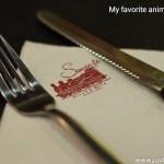 My favorite animal is steak