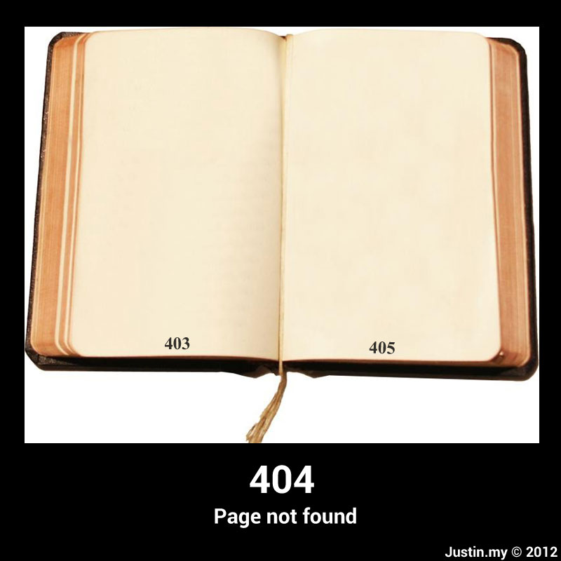 403 404 405 page not found