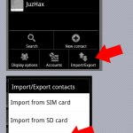 How to transfer contacts from Android to iPhone ?