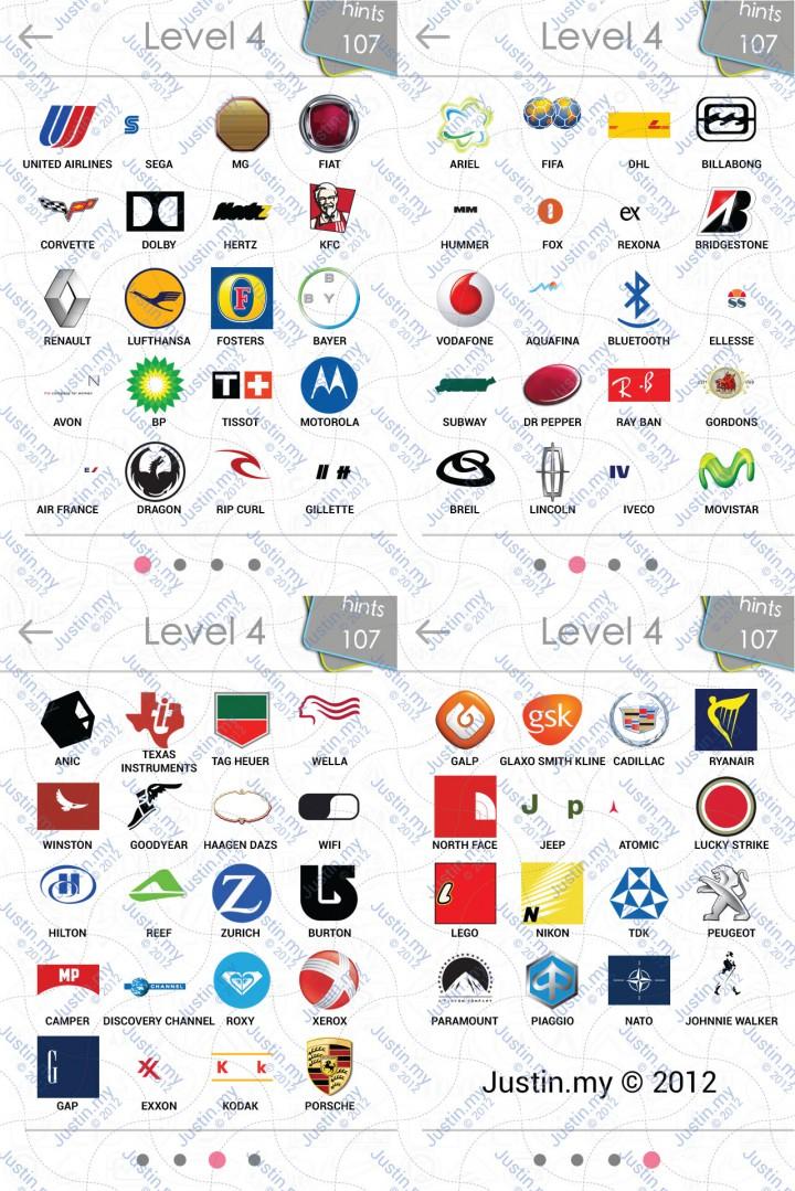 logos quiz answers level 4 v2