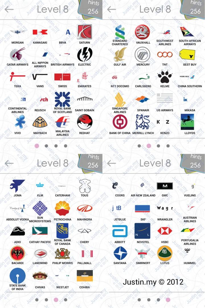logos quiz answers level 8 v2