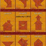Ancient Chinese Tangram Puzzle Answers