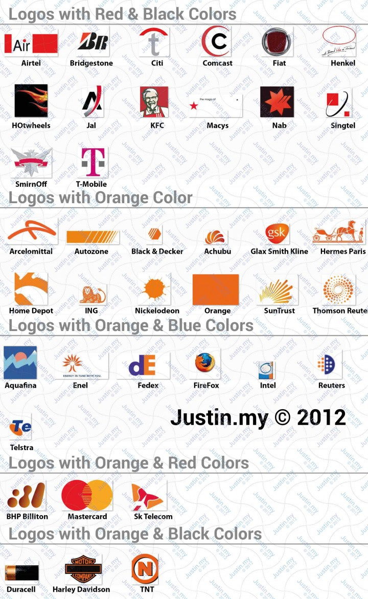 Logo with Orange colors