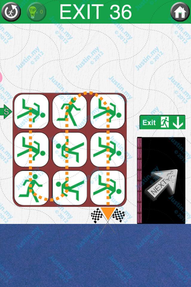 100 Exits Level 36