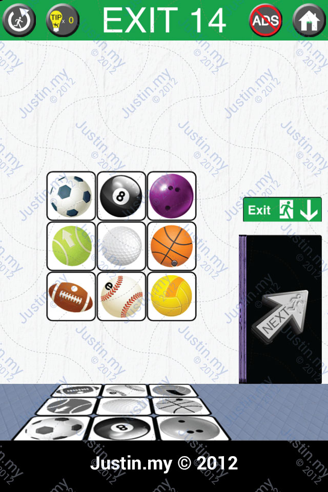 100 exits level 14