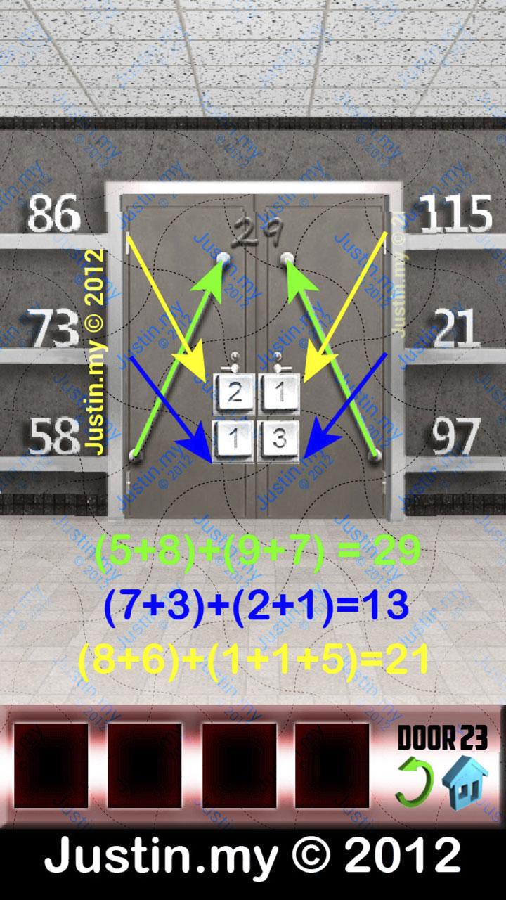 100 Doors X Level 23