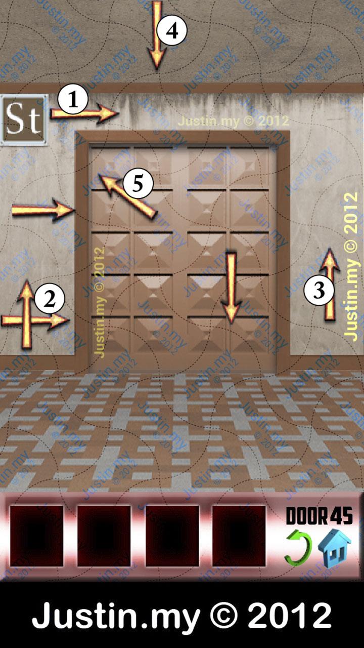 100 Doors X Level 45