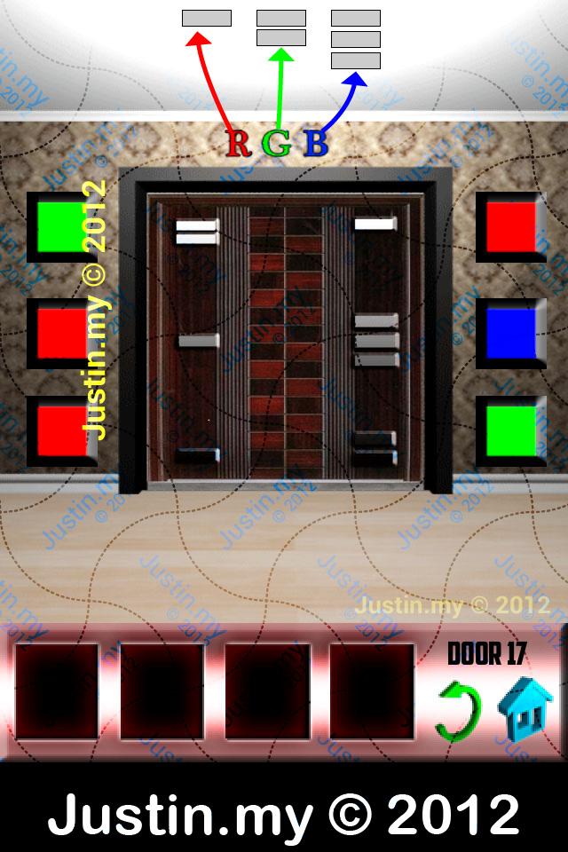 100 Doors X Walkthrough Level 17