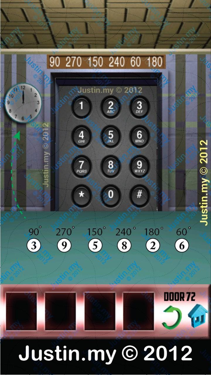 100 Doors Level 72