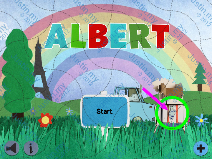 Albert Treasure Fish