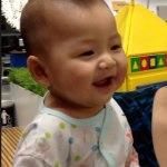 Baby Laughing at IKEA Mega Bangna Thailand