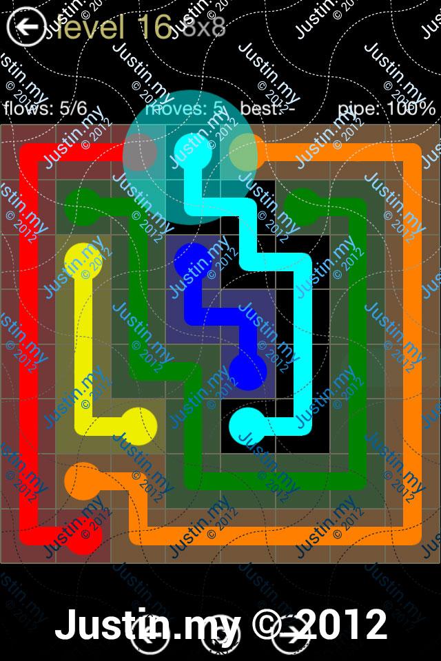 Flow 8x8 Mania Level 016