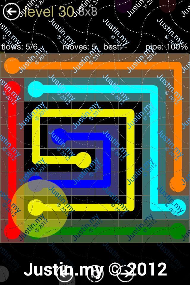 Flow 8x8 Mania Level 030