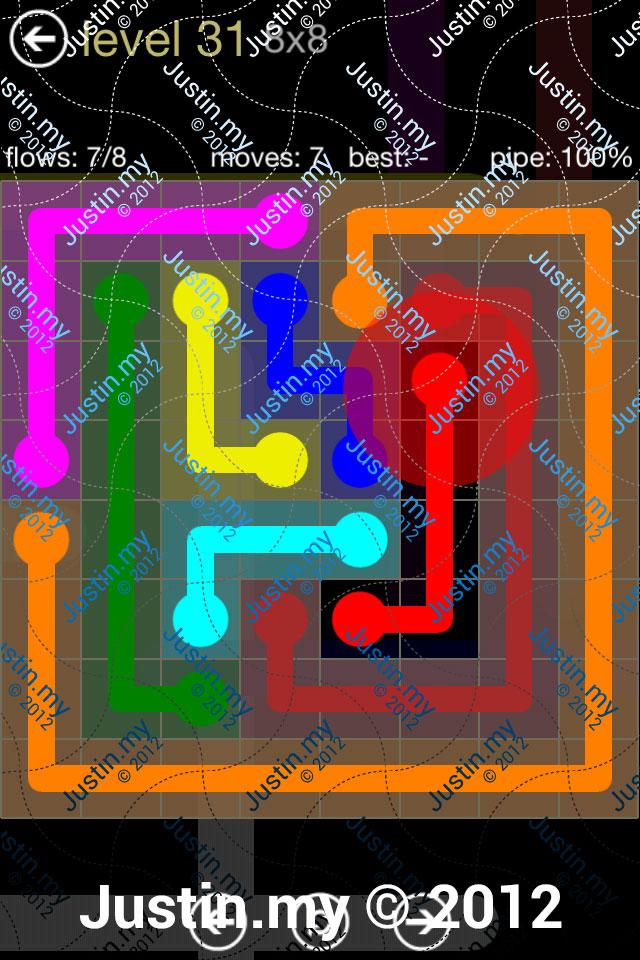 Flow 8x8 Mania Level 031