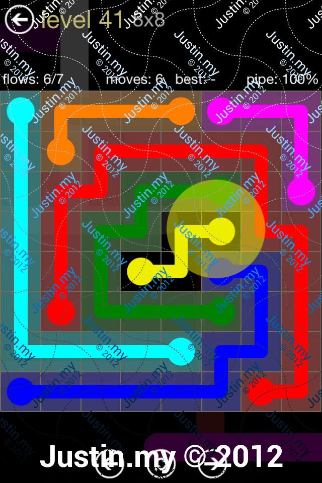 Flow 8x8 Mania Level 041