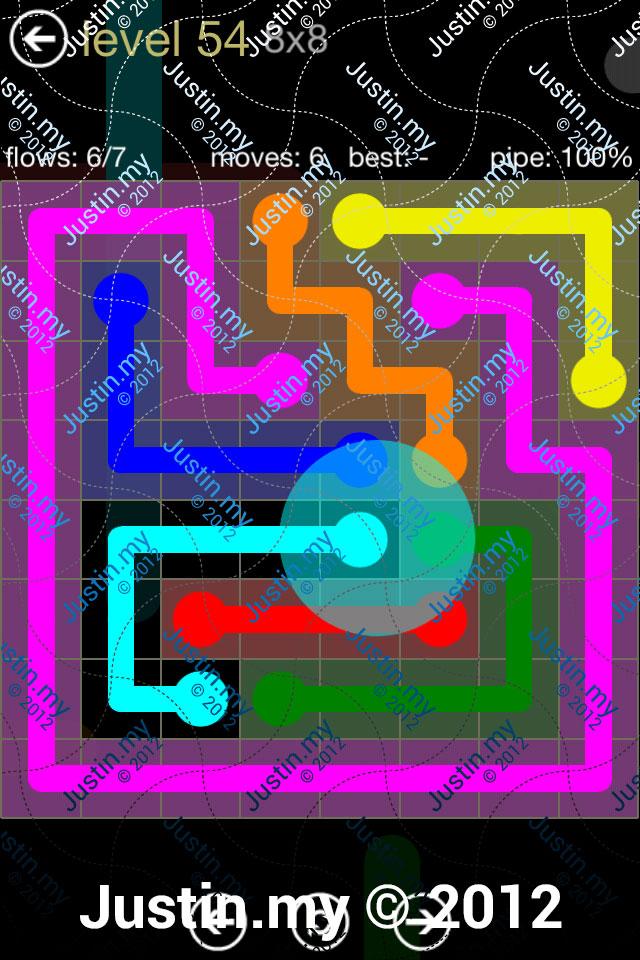 Flow 8x8 Mania Level 054