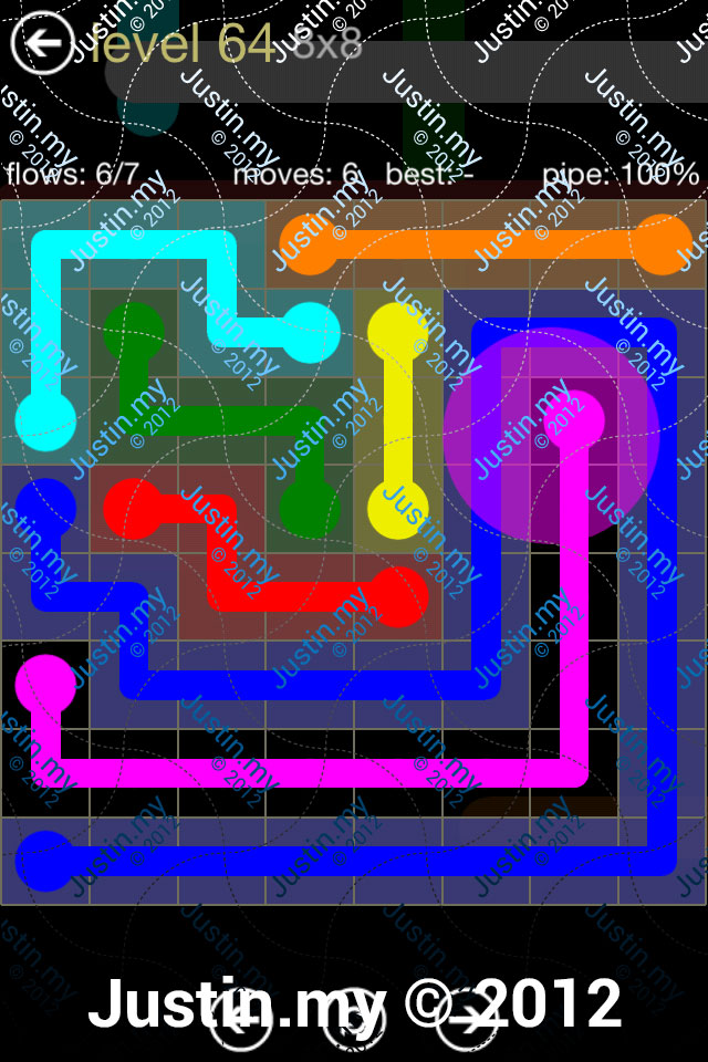 Flow 8x8 Mania Level 064