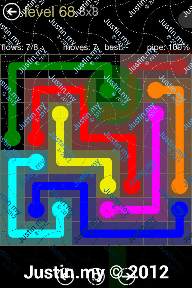 Flow 8x8 Mania Level 068