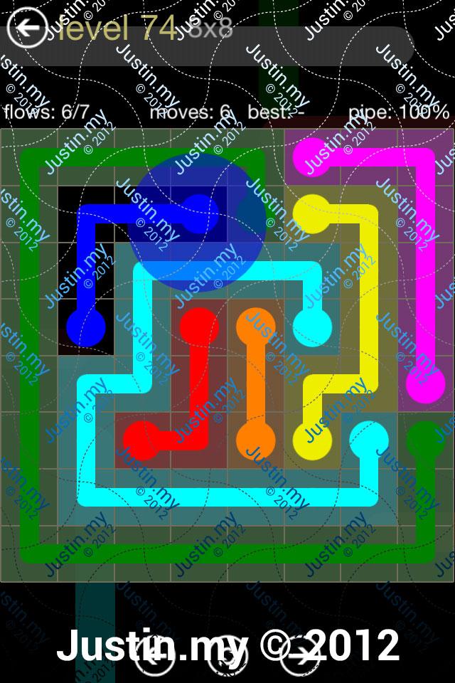 Flow 8x8 Mania Level 074