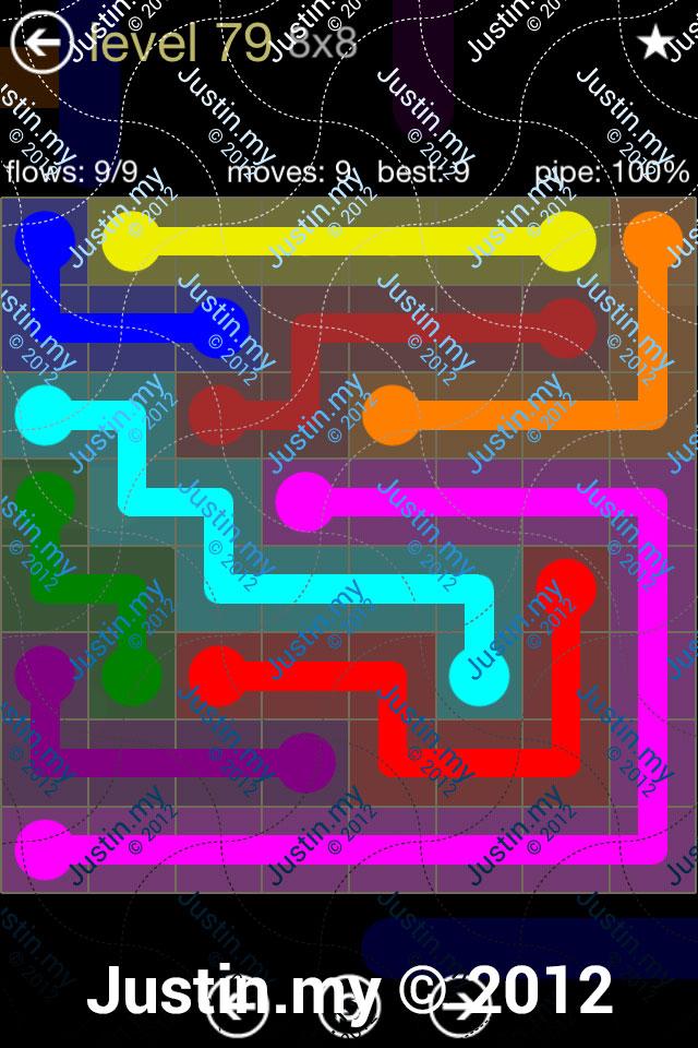 Flow 8x8 Mania Level 079