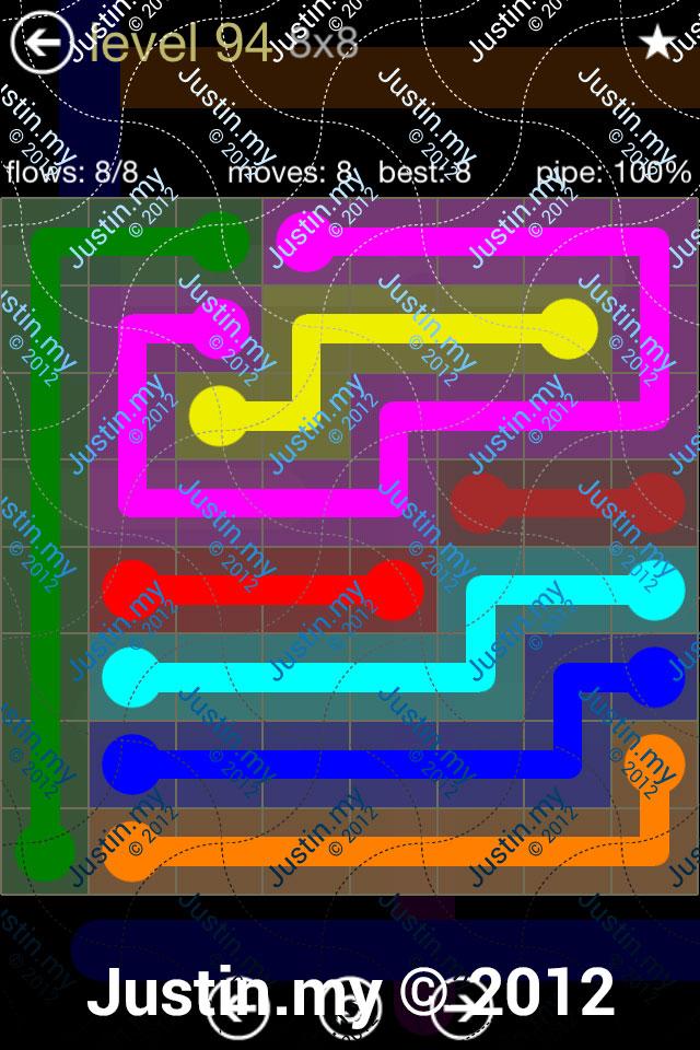 Flow 8x8 Mania Level 094