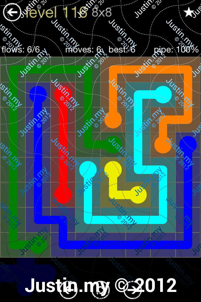 Flow 8x8 Mania Level 116