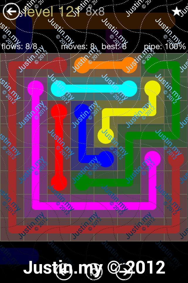 Flow 8x8 Mania Level 121