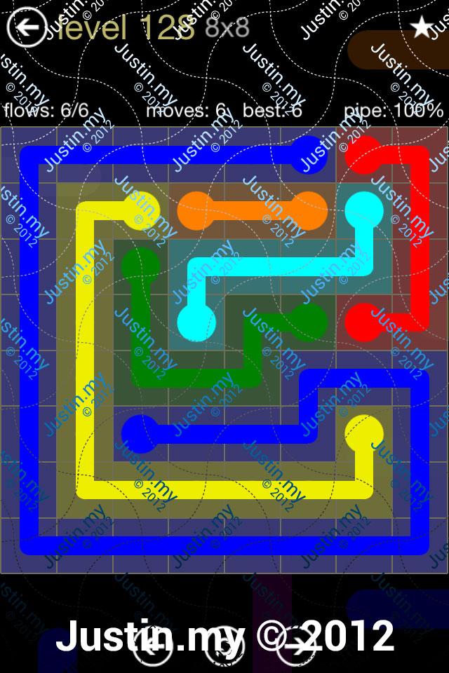 Flow 8x8 Mania Level 128