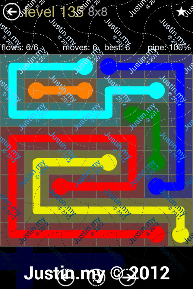Flow 8x8 Mania Level 135