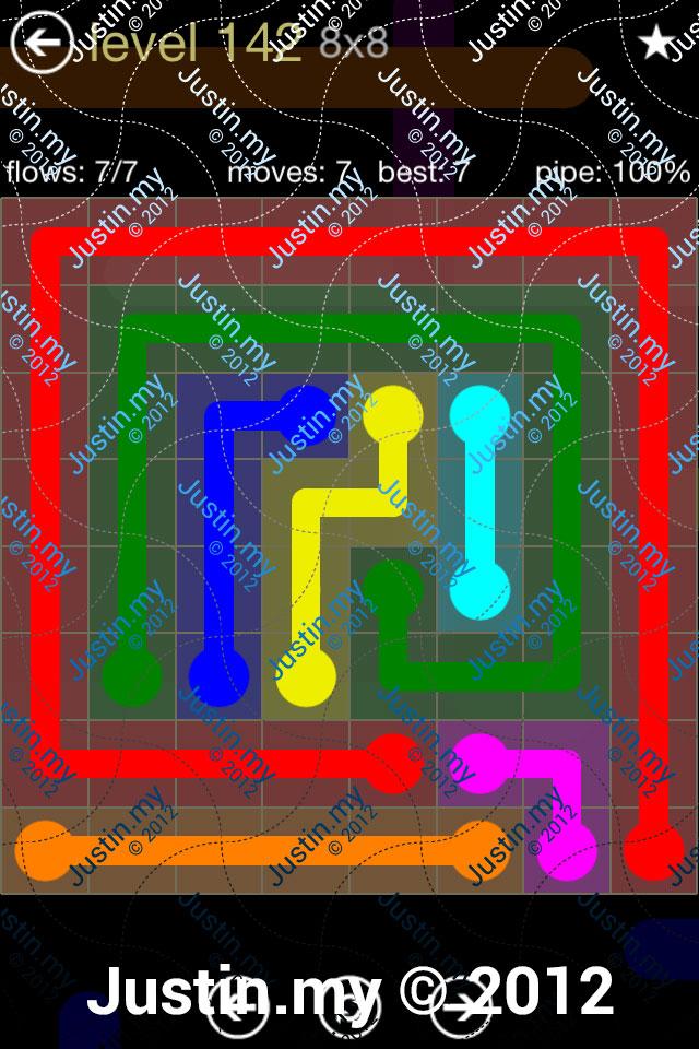 Flow 8x8 Mania Level 142