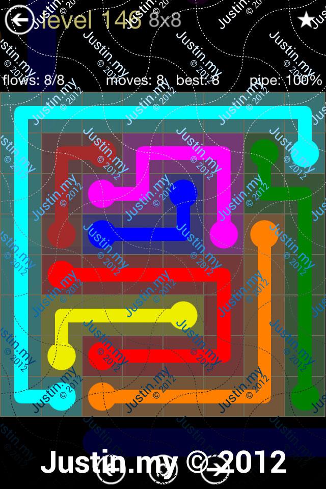 Flow 8x8 Mania Level 146