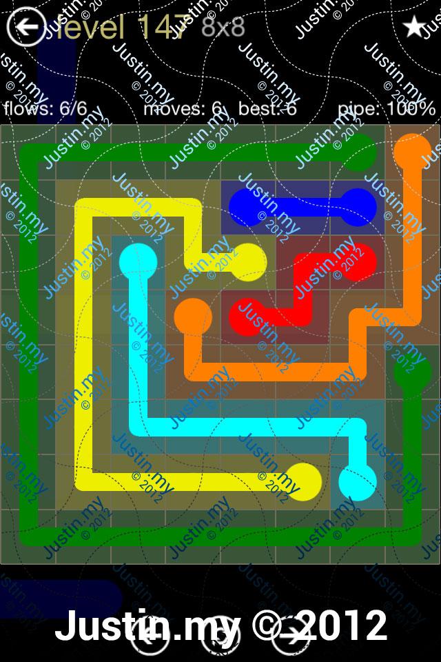 Flow 8x8 Mania Level 147
