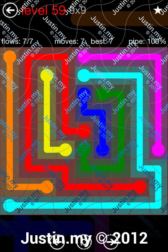 Flow 9x9 Mania Level 059